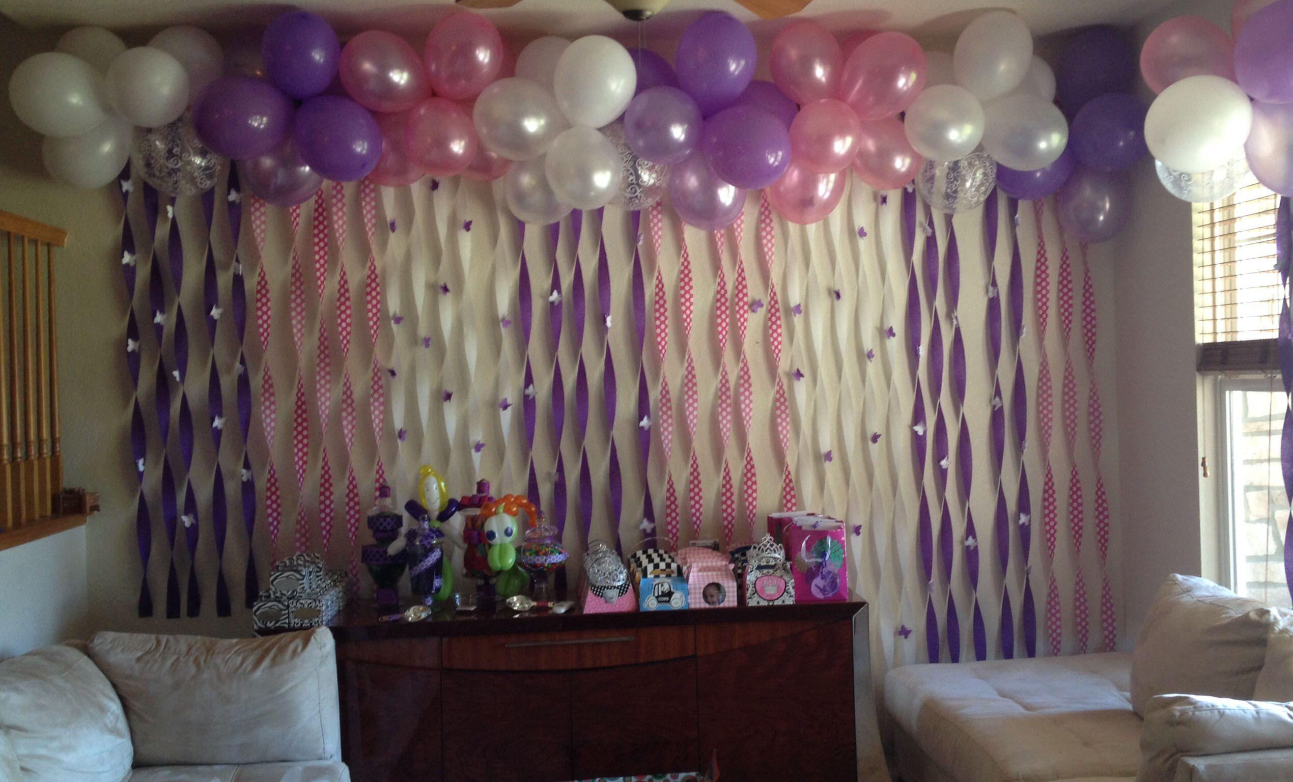 1st birthday party decorations   Festa