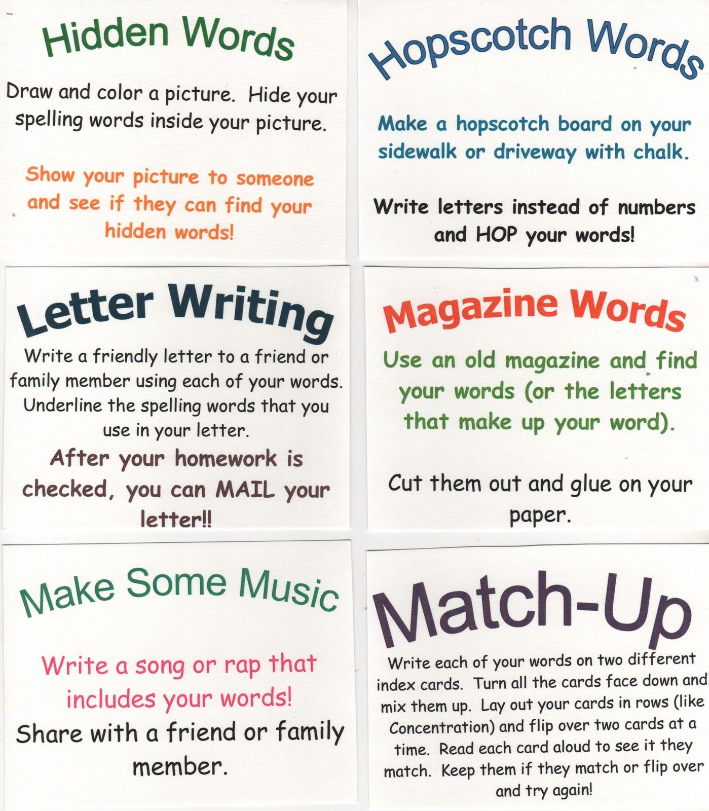 Click To See My Favorite Spelling Site These Ideas Can Be Used In Class Or As Home Study Ideas