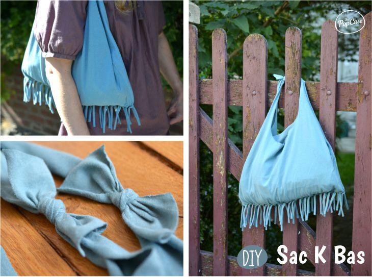 Populaire Comment faire un sac avec un vieux t-shirt sans couture  LM84