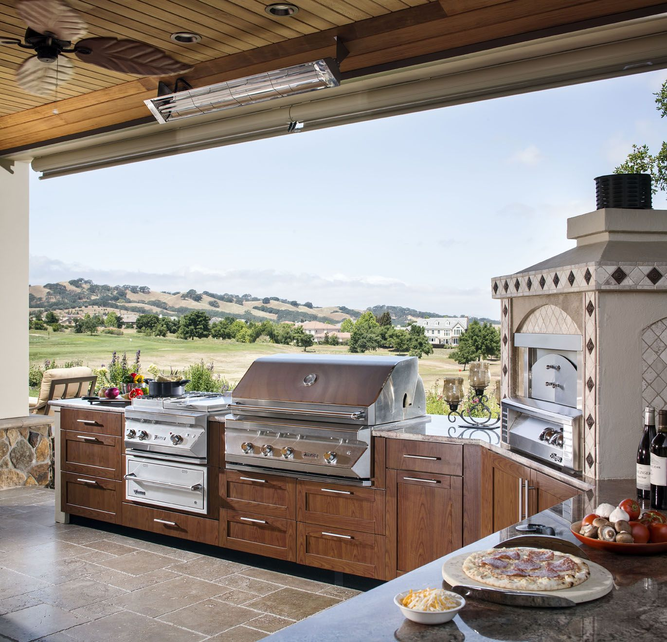 Best The Grill Side Burner And Warming Drawer Enhance The 640 x 480