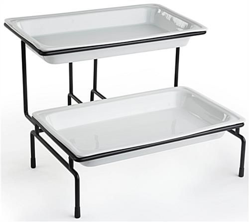 Tiered Serving Tray Tiered Serving Trays Buffet Stand