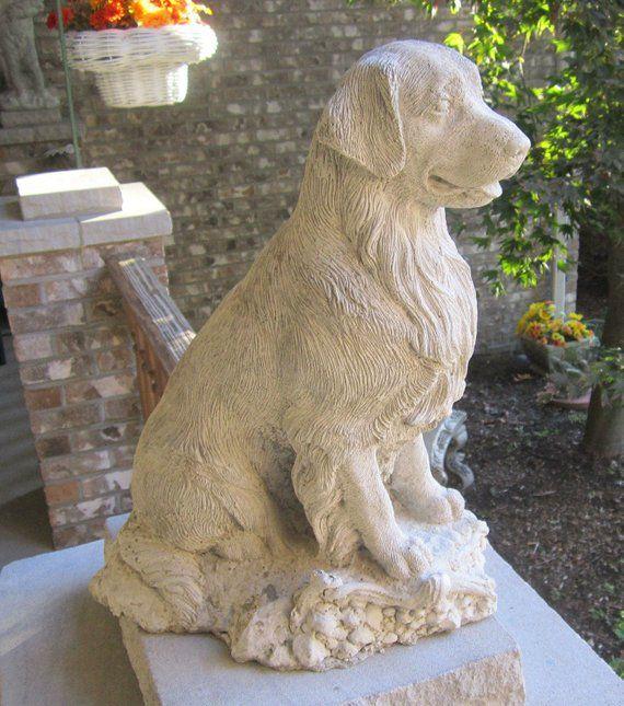 Sale Concrete Statue Golden Retriever Pet Pamperer 640 x 480