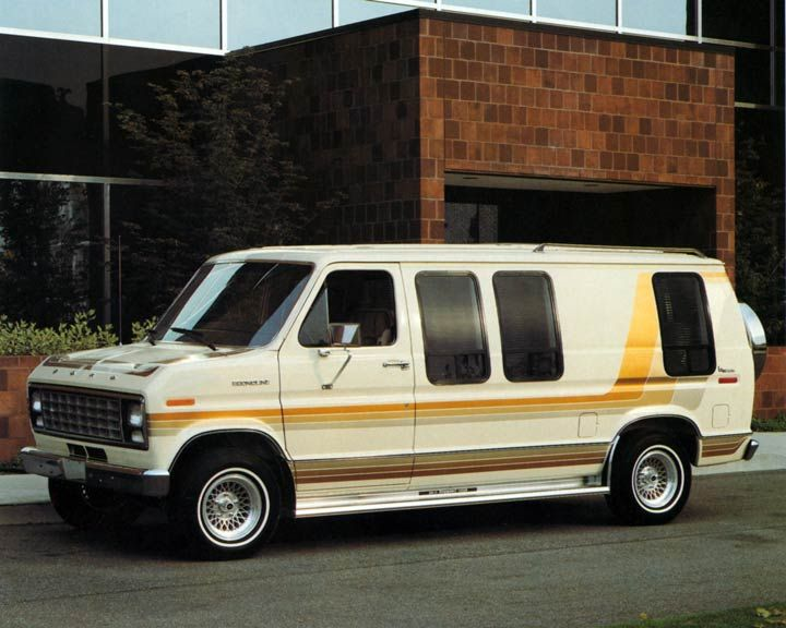 1982 Ford E150 Econoline Bivouac Conversion Van Vans Ford
