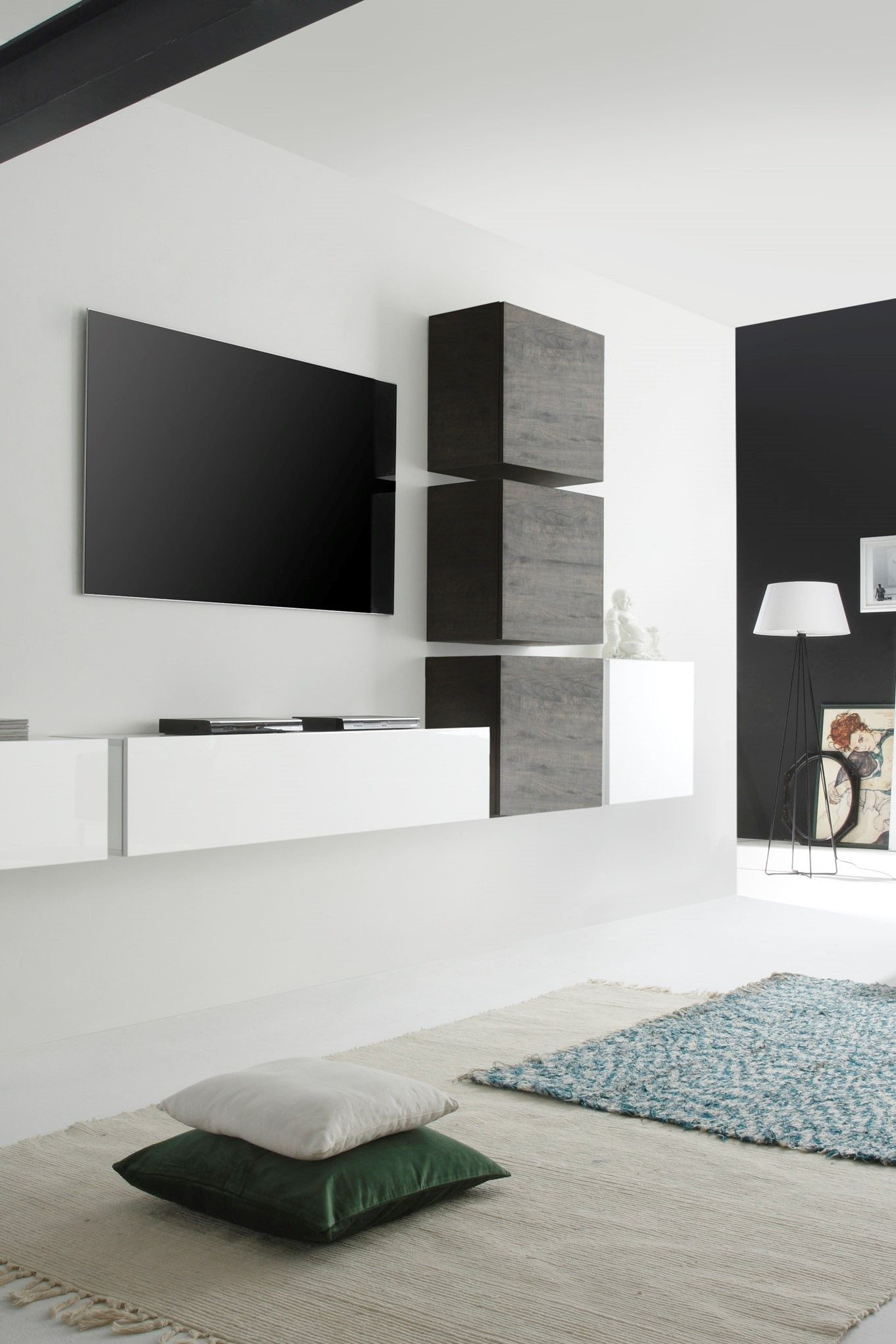 Wohnwand Wohnzimmer Design Wohnwand Como Vii 6 Tlg In 2019 Living Rooms Living Room
