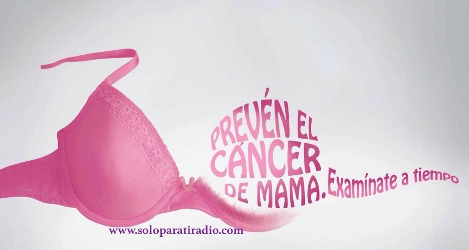 @soloparatiradio apoya la lucha contra el cáncer de seno y hace votos al Creador para que todas nuestras oyentes y lectoras tomen conciencia de lo importante que es prevenirlo...averigua aqui como - http://soloparatiradio.com/?page_id=3000