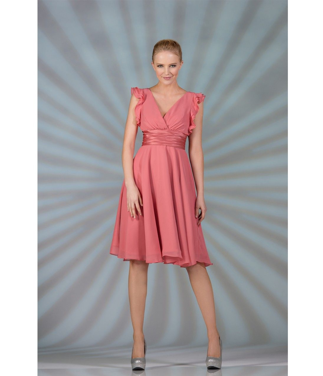 ruby red bridesmaid dresses neutral colors | Top 50 Ruby-Red ...
