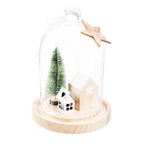 Weihnachtstafel White #weihnachtlichetischdekoration Weihnachtliche Tischdekoration Let it Snow | Maisons du Monde #weihnachtlichetischdekoration