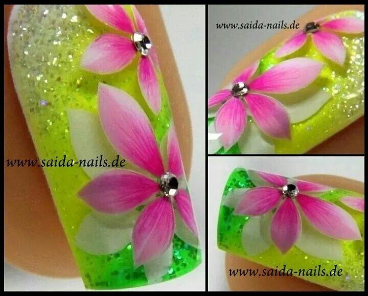 Saida Nails | uñas y belleza | Pinterest | Uñas en gel, Uñas de gel ...