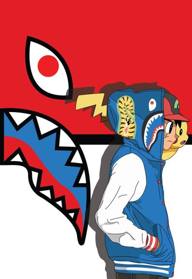Abi childhood series cartoons meet bape dopee bape - Hood cartoon wallpaper ...