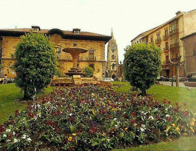 Plaza Porlier. Antes de los cambios