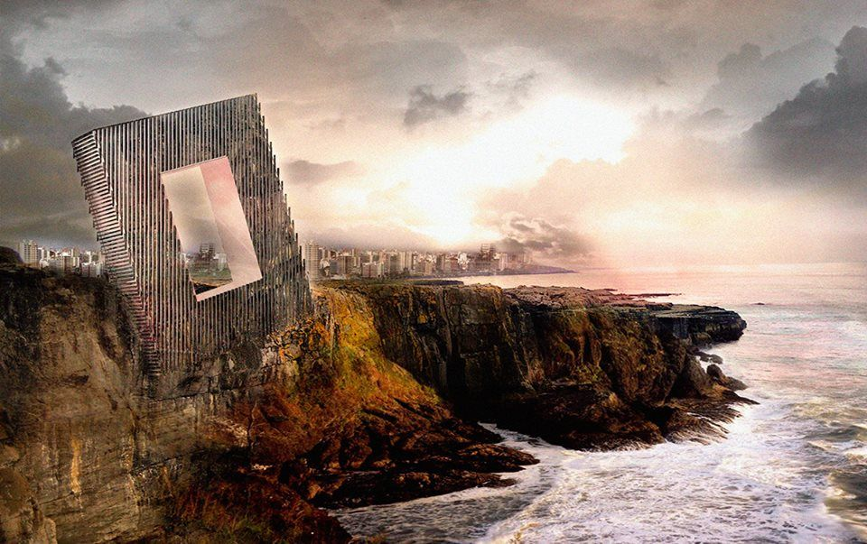 """Wooow... """"The provisionally named 'Unbalance Hotel' is set to be built into the side of a cliff outside the city center of Lima, Peru."""""""
