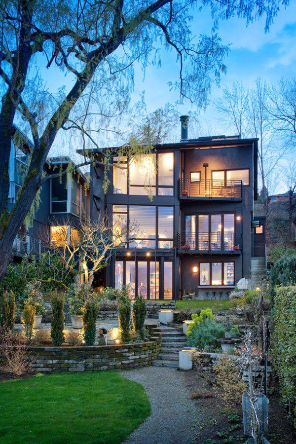 Modern Lakeside Dream Lake Washington Residence One