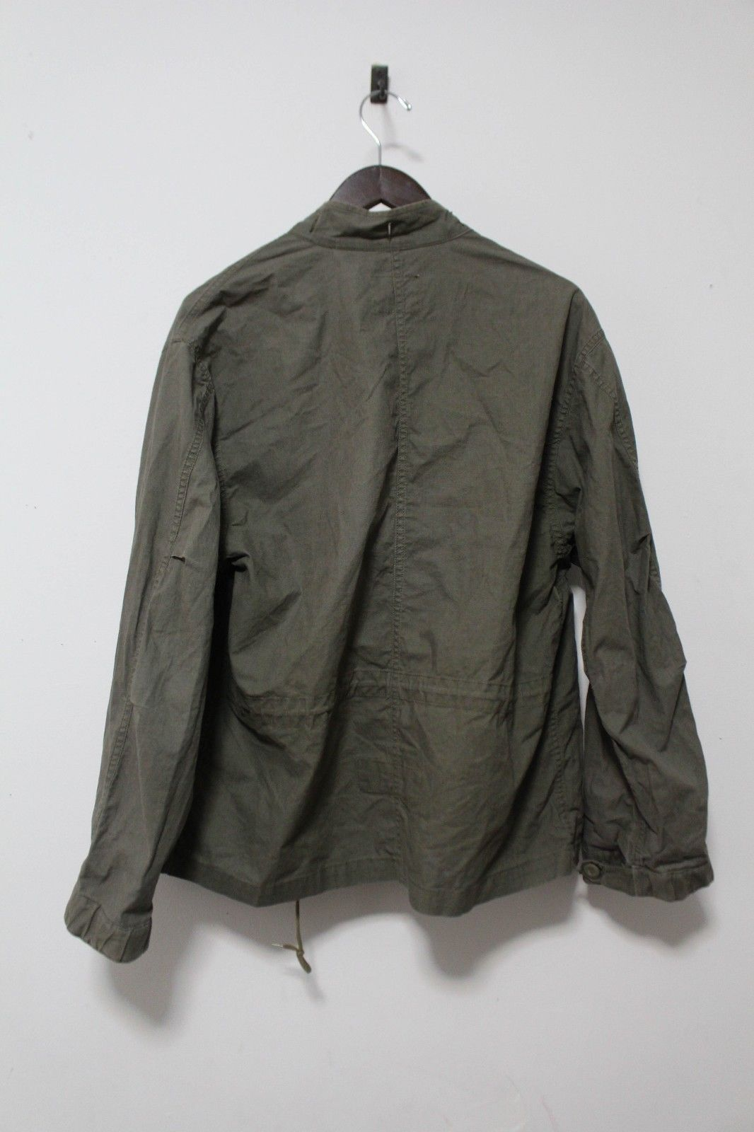 e2462c7fd0e03 OG Helmut Lang 1999 Olive Hooded Military Field Jacket | eBay ...