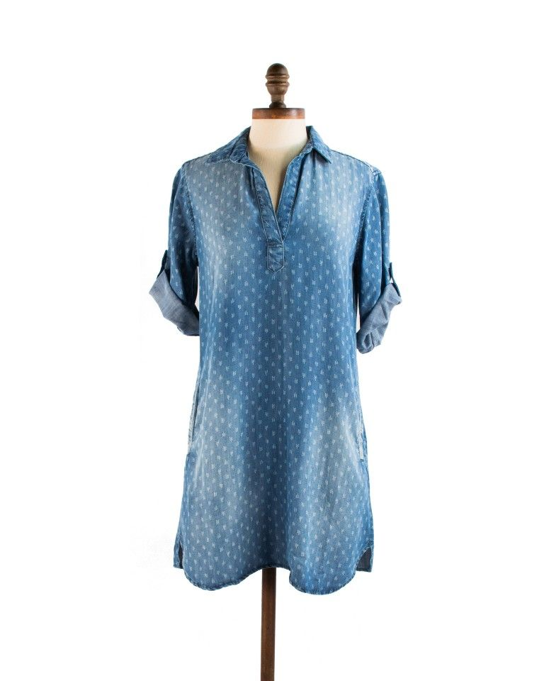 A-Line Shirt Dress | Shirts, A line and Dresses