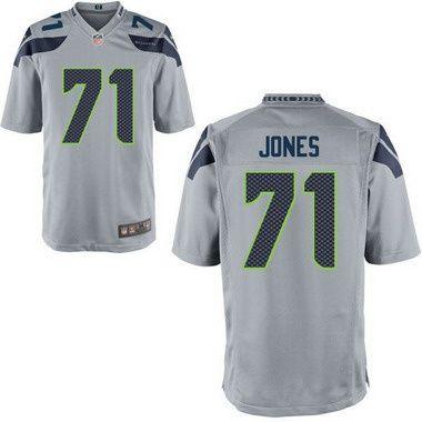91741590e Seattle Seahawks  71 Walter Jones Gray Retired Player NFL Nike Elite Men s  Jersey. Men s Seattle Seahawks  49 Shaquem Griffin Gray Alternate ...