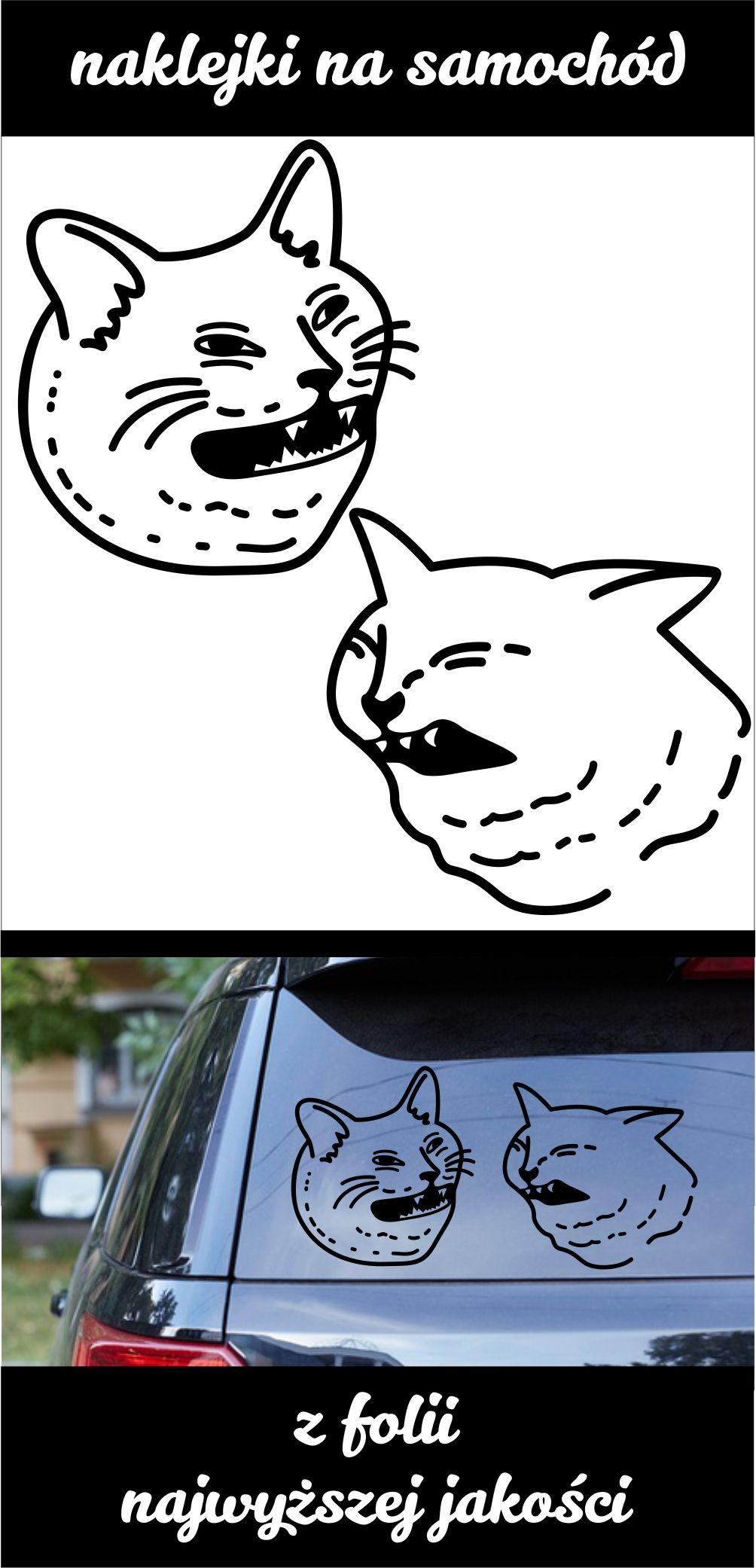 Naklejki Naklejka Na Samochod Tuningowe Smieszne Koty Memy 18 Cm Naklejka Na Auto Allegro In 2021 Character Fictional Characters Snoopy