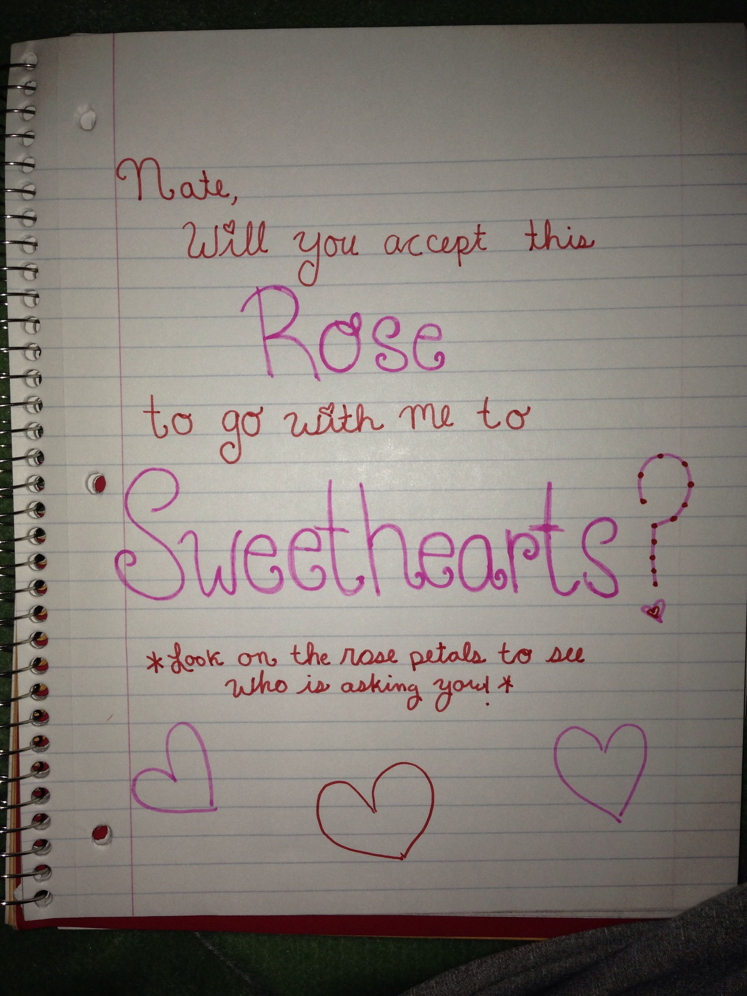 The best way to ask a boy out