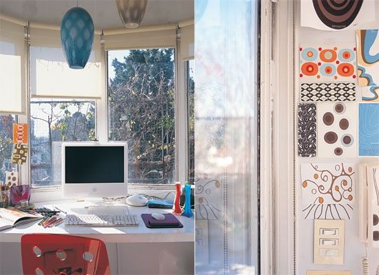 Home office, love the windows