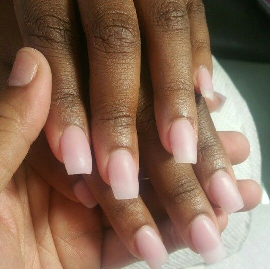 Acrylic On Brown Skin Natural Acrylic Nails Brown Acrylic Nails Pink Acrylic Nails