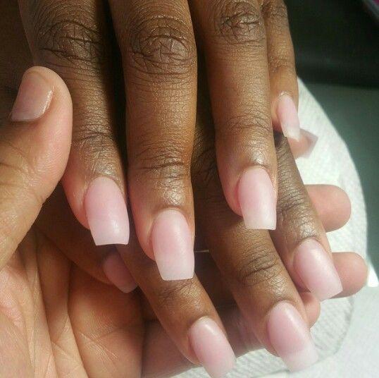 Acrylic On Brown Skin Natural Acrylic Nails Brown Acrylic Nails Pink Acrylic Nails