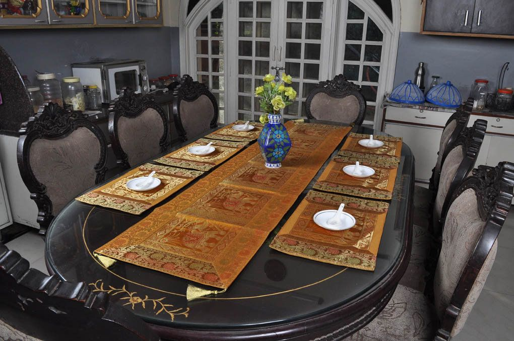 Table Placemats Set Kitchen Dining Room Table Runner Table Decor