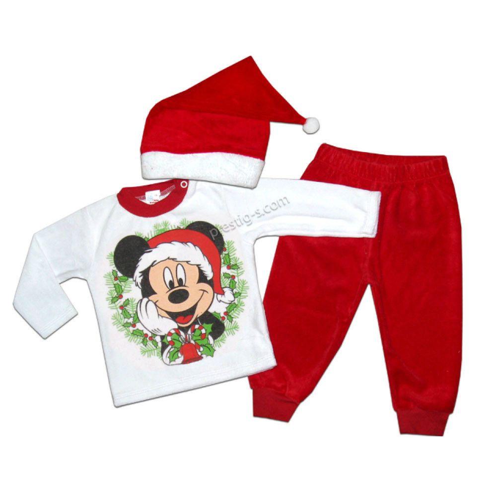 Baby Weihnachten Jungen Lange Ärmel Winter Mickey Mouse