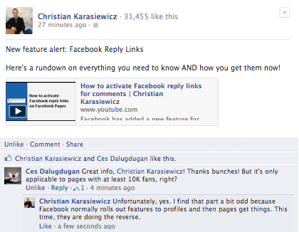 How To Unlike A Comment On Facebook
