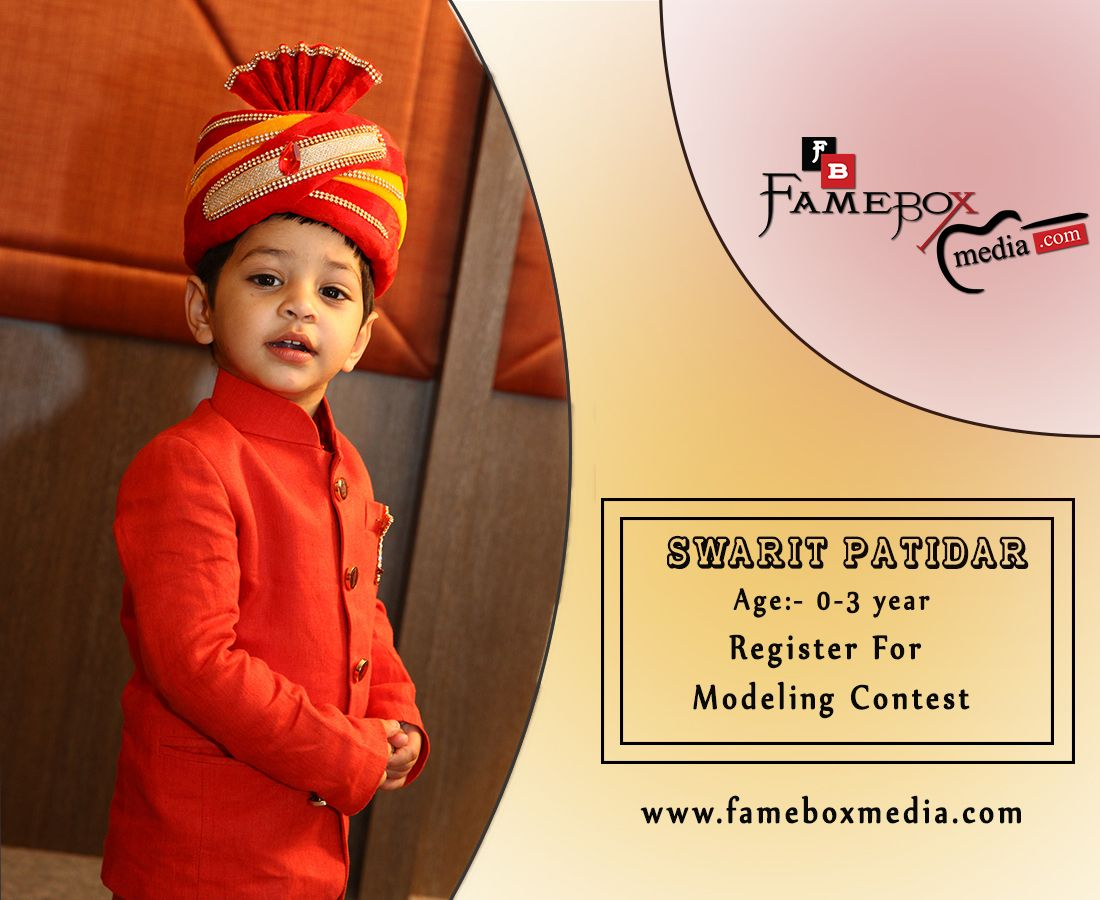 I am the contestant of Fame Box Media in Modeling Contest