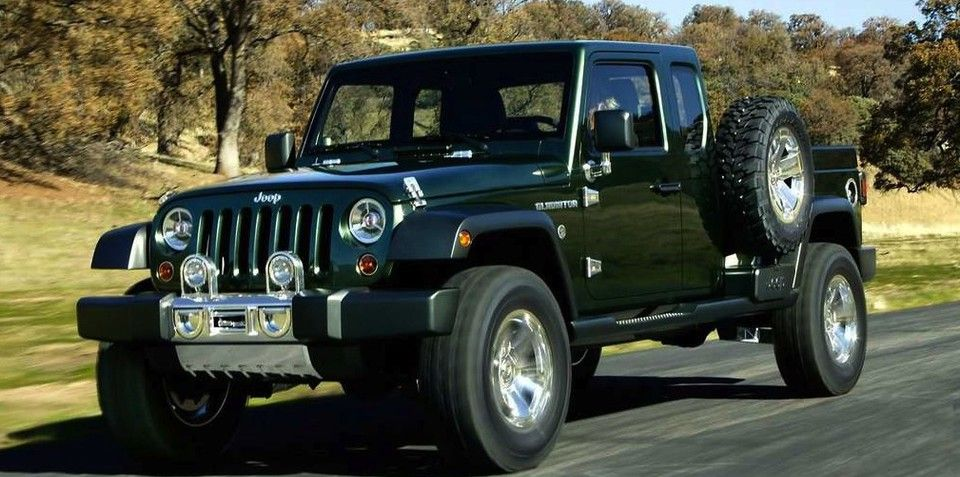 Jeep Wrangler Ute Under Consideration Jeep Wrangler Pickup Jeep