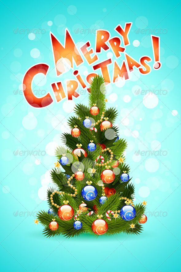Vectors Christmas Card Graphicriver Christmas Vectors Christmas Design Christmas