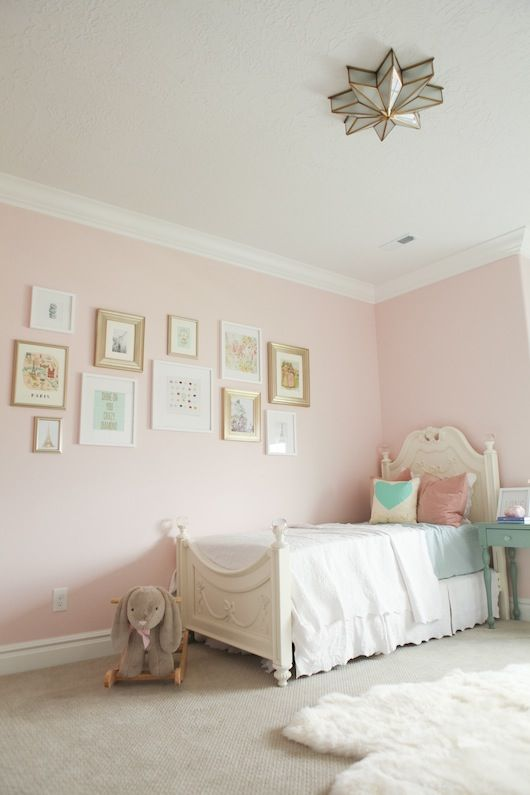 Love The Wall Color For Nia S Room