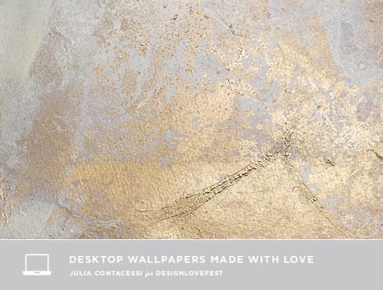 Free Digital Gold Modern Desktop Wallpaper From