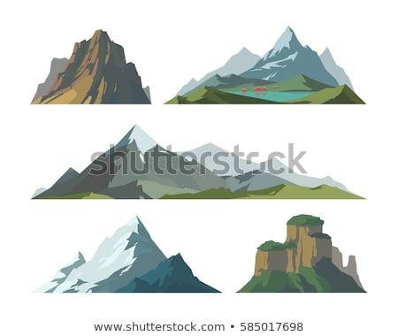 Pin On Mountain Illustration