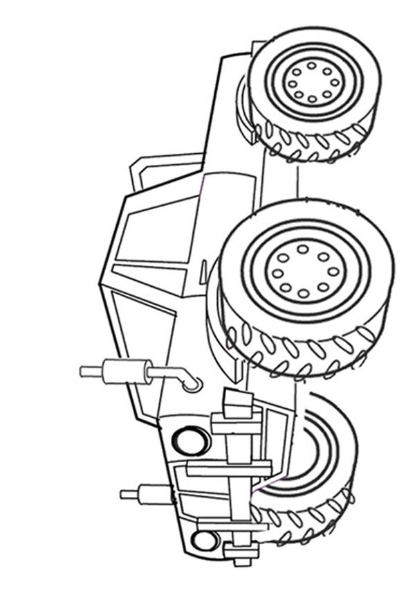 Free Online Monster Truck Colouring Page | color book | Pinterest ...