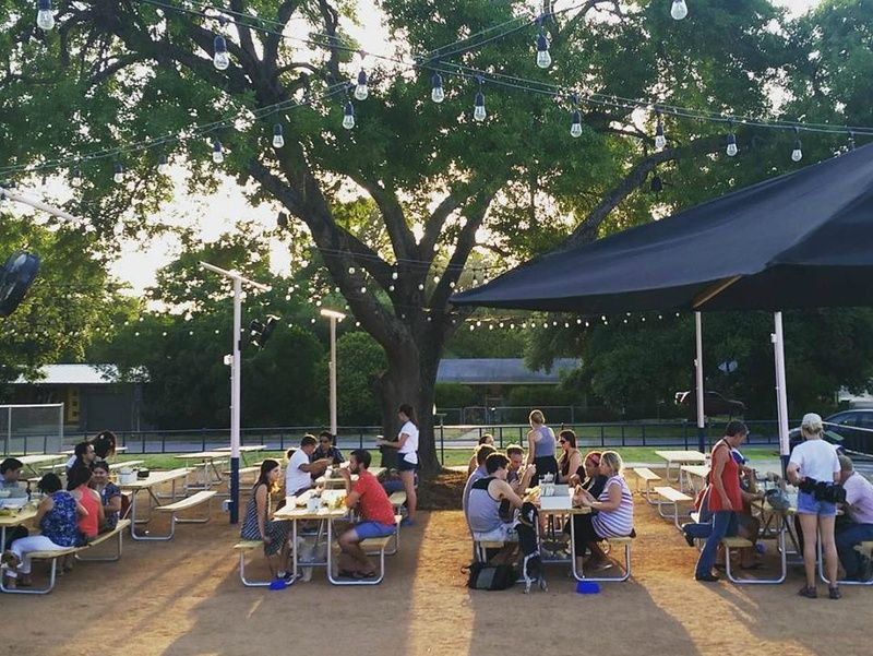 Hotly Anticipated Dog Park And Bar Now Open In North Central Austin Dog Park North Austin Restaurants Best Happy Hour