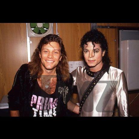 Jon Bon Jovi and Michael