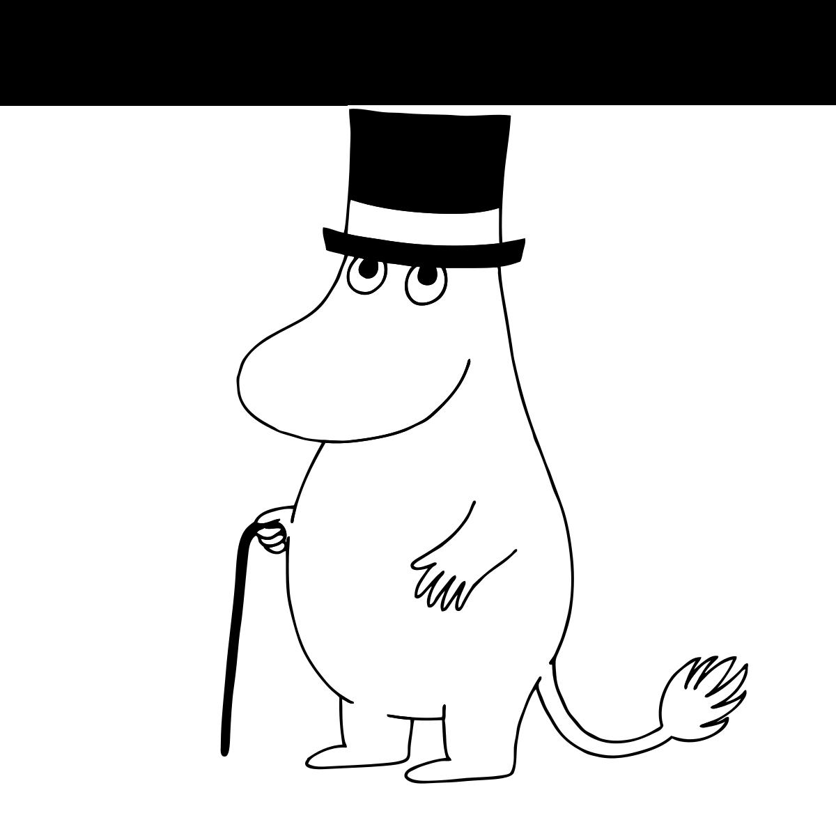 Муми тролли шляпа волшебника картинки