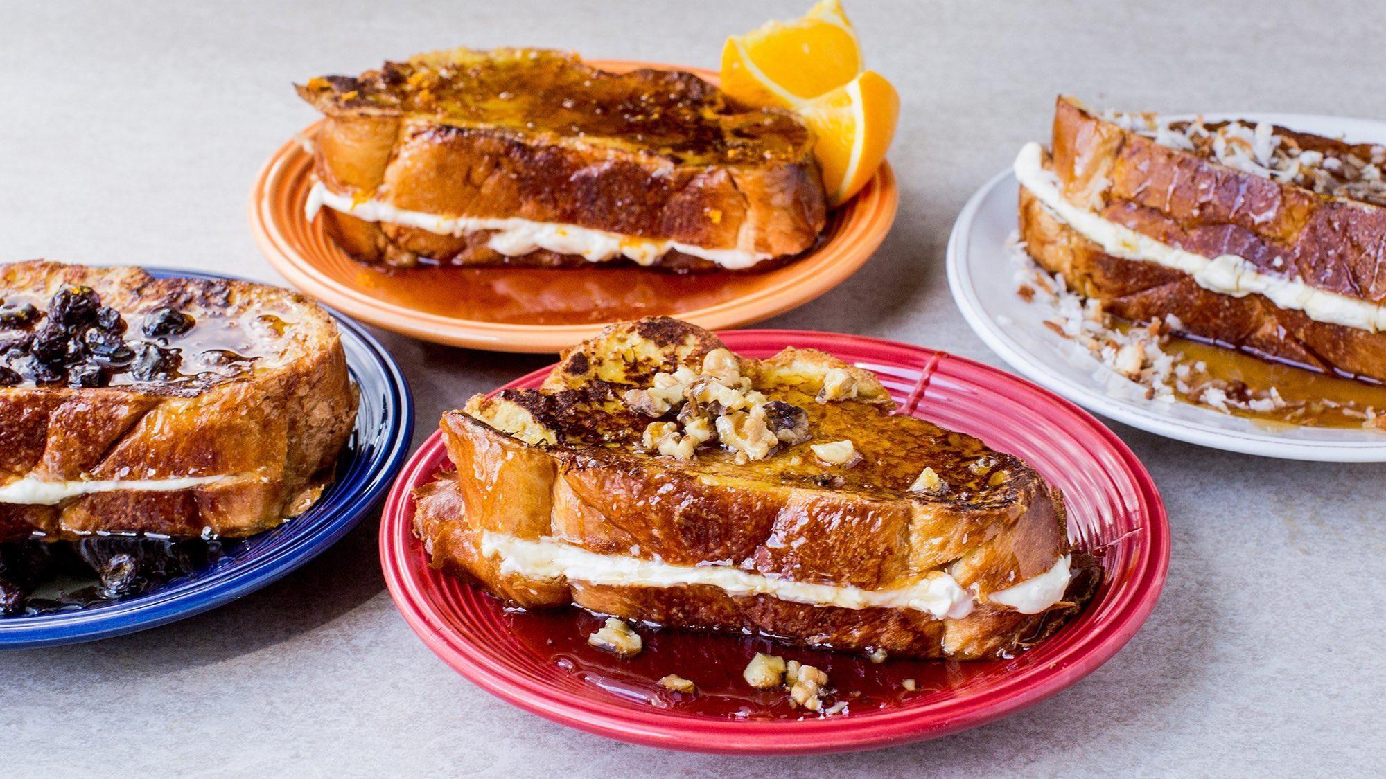 Creamy stuffed french toast recipe recipe french toast