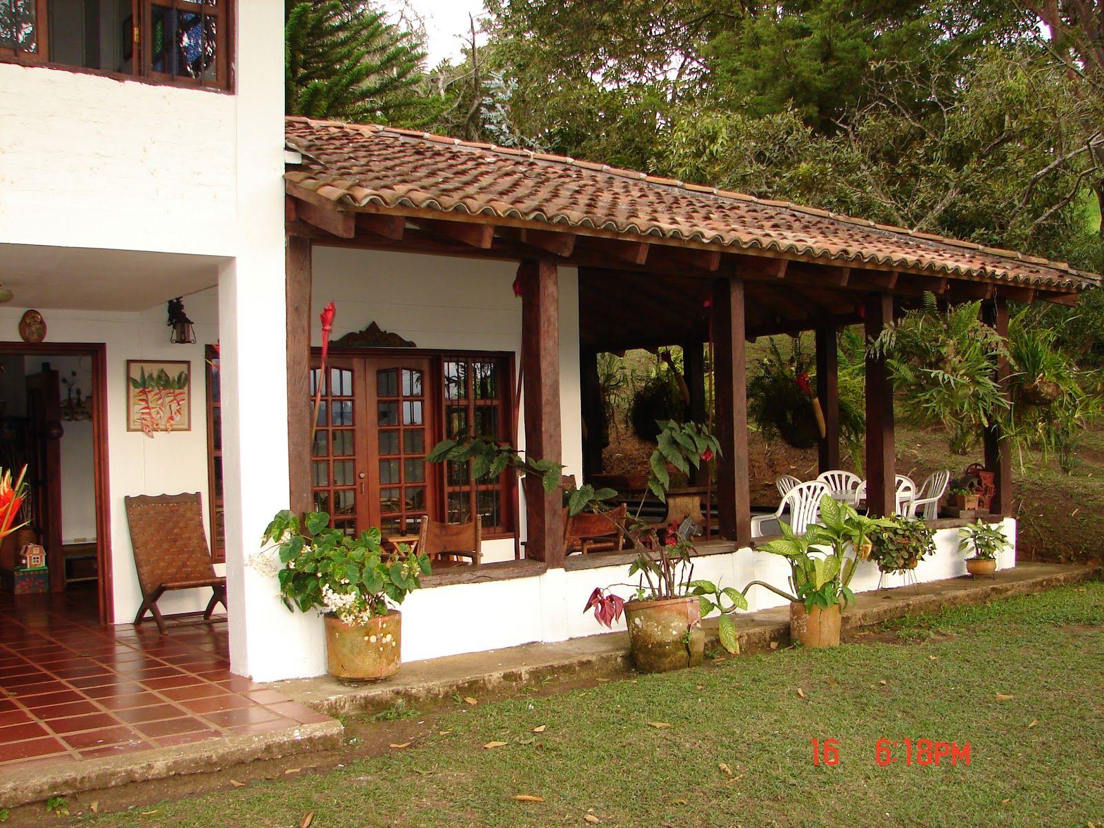 Casas campestres buscar con google ideas para casa pinterest house patios and spanish style - Ideas casas de campo ...