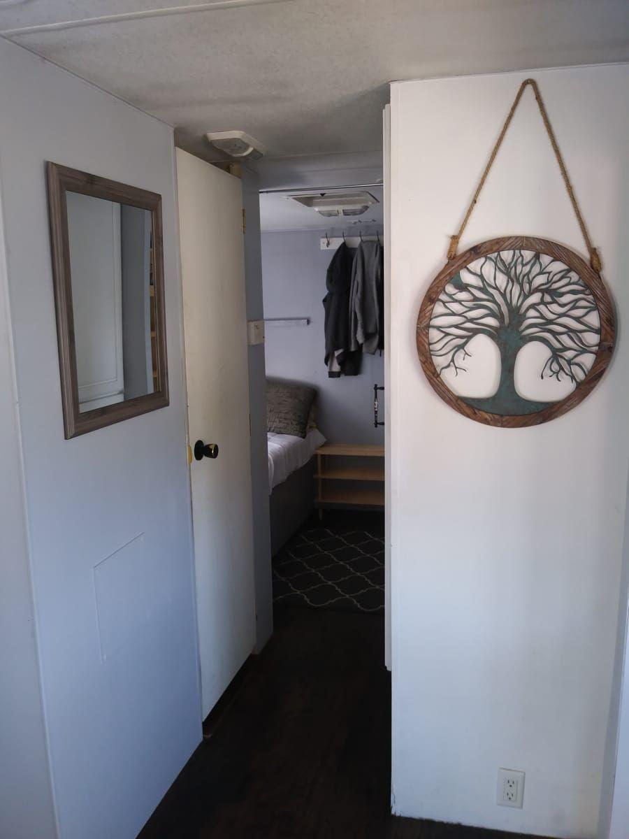 Tiny House (Freedom Machine) - Tiny House for Sale in broken arrow, Oklahoma #tinyhousebathroom