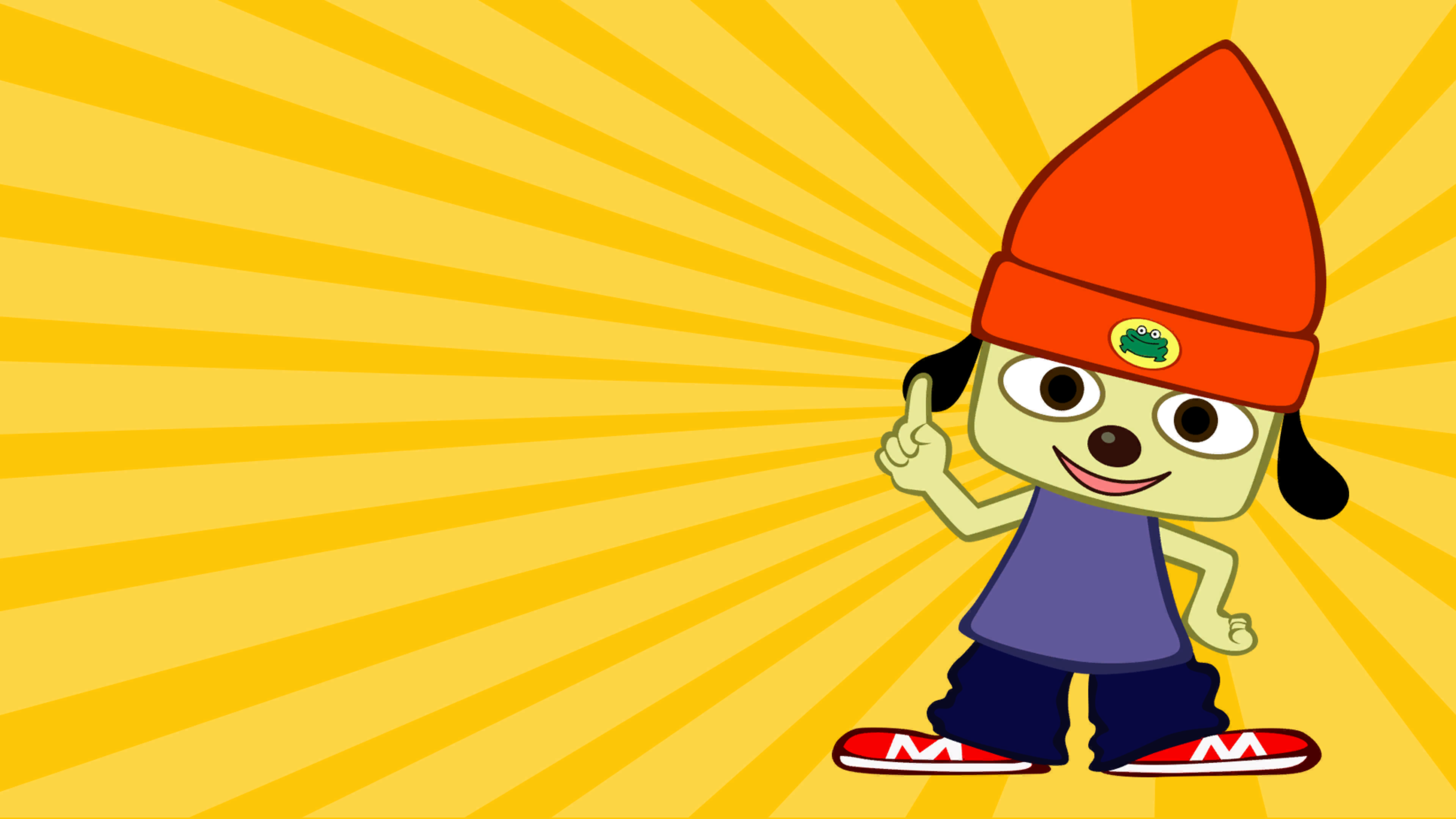 Parappa The Rapper Screenshot Wallpapers 4k And 1080p Playstation4 Ps4 Sony Videogames Playstation Game Japan Graphic Design Rapper Character Design