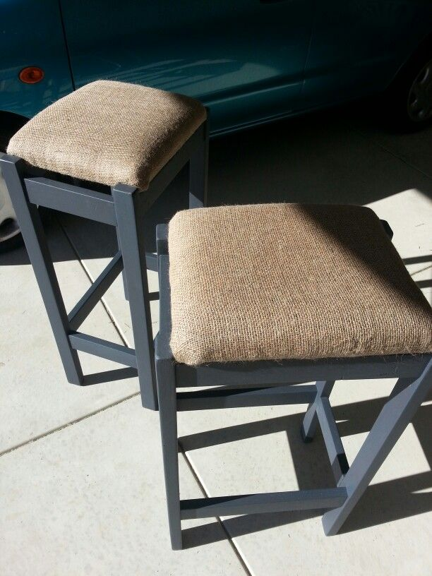 $10 for the pair. Great stools just needed a freshen up.