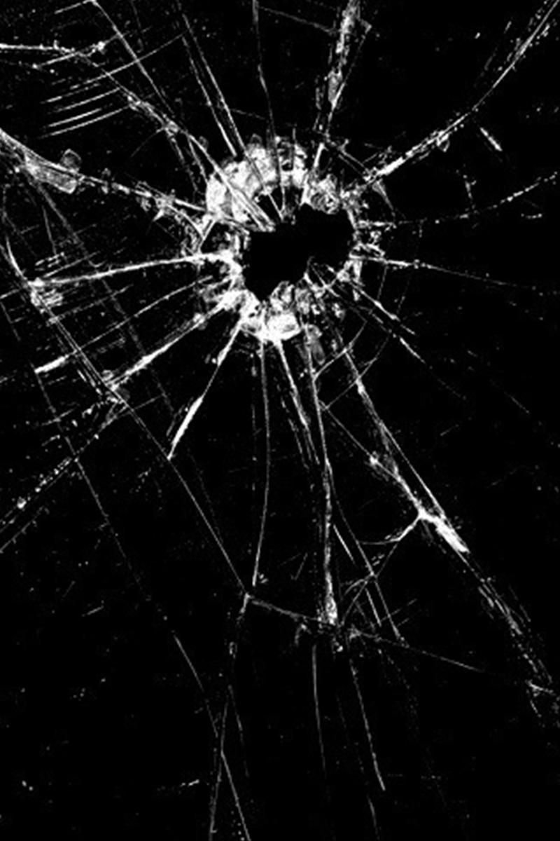 Cracked Screen Iphone 4 Wallpaper Cracked Black Screen Android Wallpaper έ έ