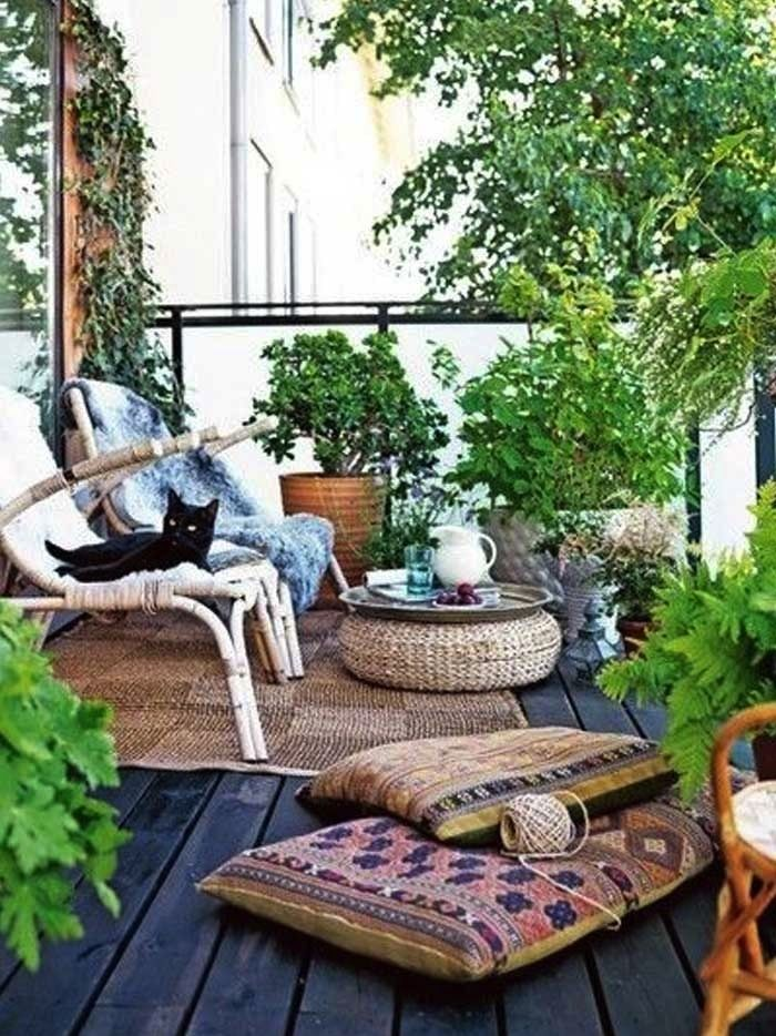Balkong ╮(╯▽╰)╭ garden  out door spaces 戶外花園 Pinterest - terrassen sichtschutz deko varianten