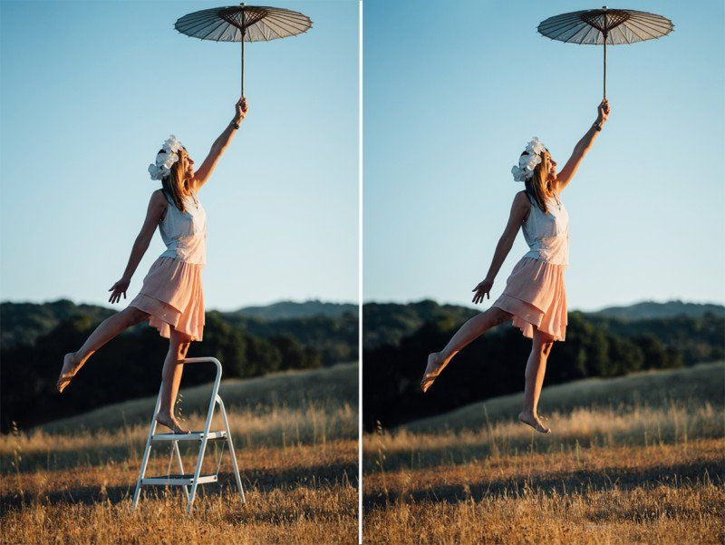 Before and After 'Levitation' Photos, Plus Tips and Tricks