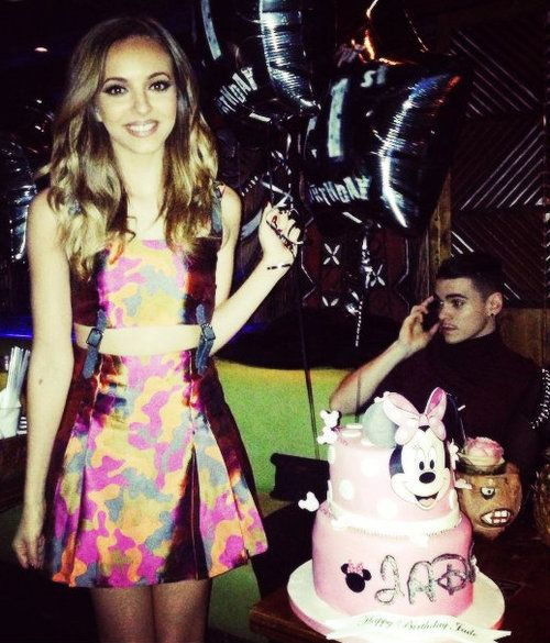 Jade And Sam Her Birthday Cake Though Jade Thirlwall Little