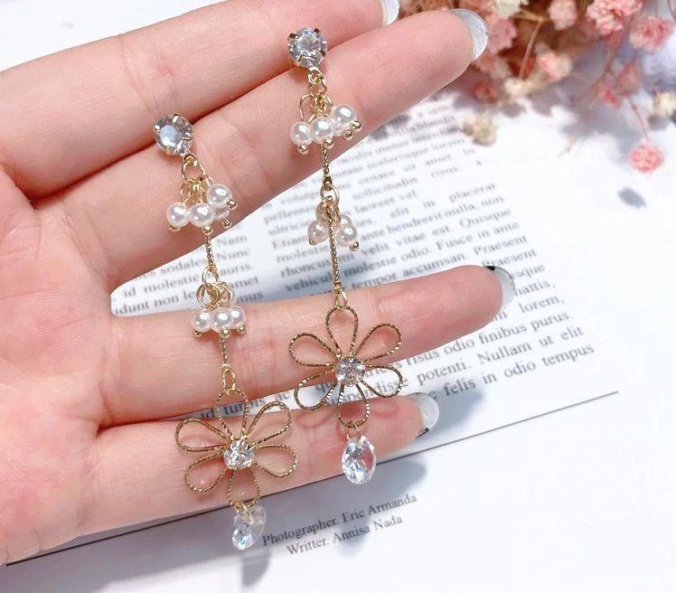 Tempus resin earrings