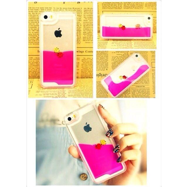 pink water case