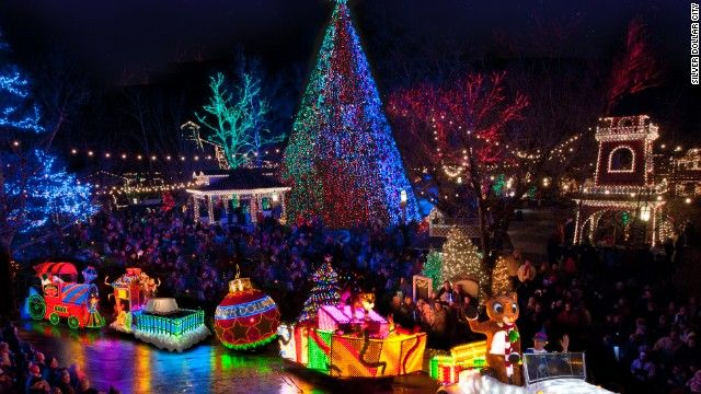 9 Of The Best Places To See Christmas Lights In The Usa In 2018 Christmas Light Displays Christmas Wonderland Best Christmas Lights