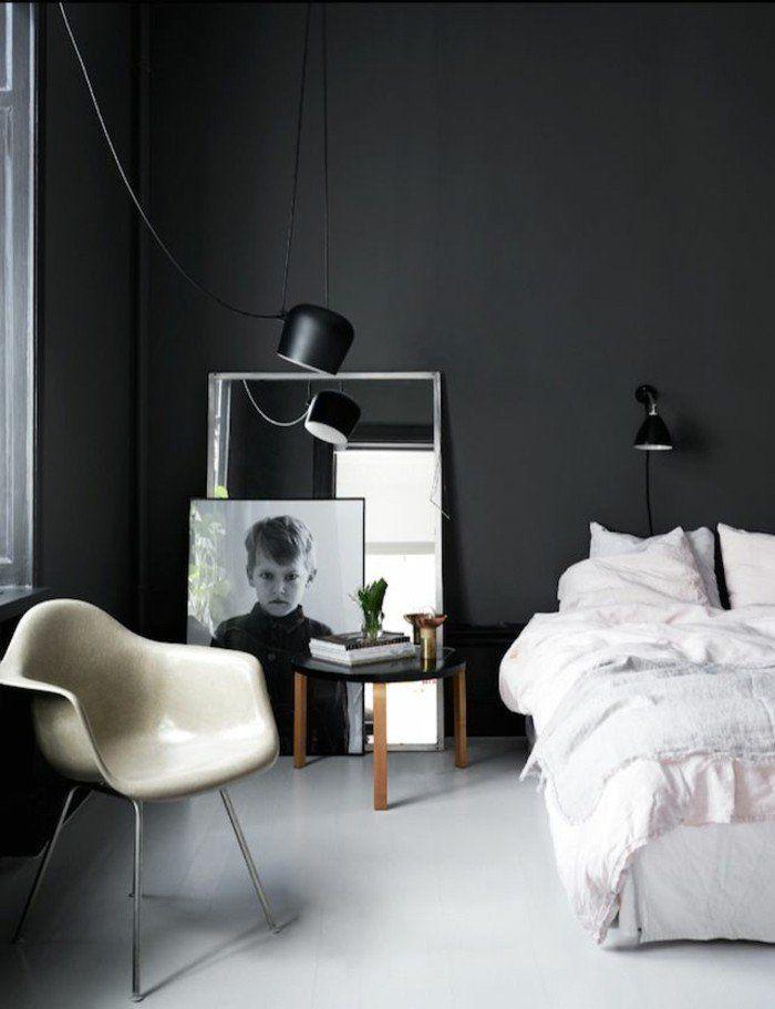 Le Gris Anthracite En 45 Photos D Interieur Deco Chambre